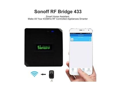 Sonoff 433MHz RF Bridge,WiFi Modul Automatisierung Für Google Play,Universal-Intelligent-Controller Für Alexa Smart Home