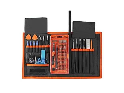 Blingco 78 in 1 Precision Schraubendreher Set, Electronic Repair Tool Kit, Magnetic Driver Kit für iPad, iPhone, Gläser, Laptops, PC, Smartphones, Uhren, Tablets und andere Geräte mit Portable Box