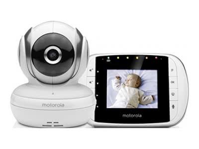 Motorola MBP 33S Video Babyphone | Wireless Baby-Überwachungskam