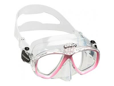 Cressi Professional Tauchmaske mit Einem Adapter für Action Cam