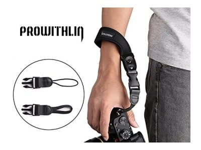Prowithlin Kamera Handschlaufe für SLR Kameras DSLR, Pentax, Canon, Panasonic, Leica, Sony, Samsung, M4/3, NEX, Fujifilm, usw.