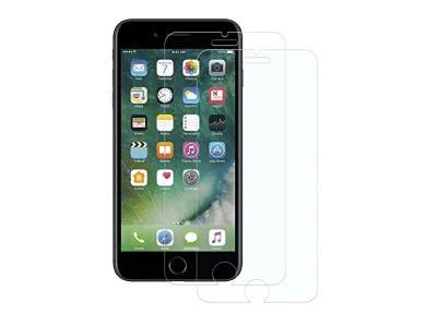 POOPHUNS [2 Stück] iPhone 7/8 Schutzfolie Panzerglas, 9H Härte Displayschutzfolie für iPhone 7 8, HD Ultra Klar, Anti-Kratzen, Anti-Öl