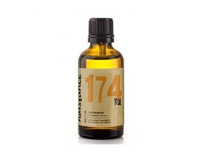 Naissance ätherisches Öl – Lemongras / Zitronengras Flexuosus 30ml – rein, natürlich, tierversuchsfrei, vegan, wasserdampfdestilliert, unverdünnt – zur Anwendung in Aromatherapie, Massagemischungen & Duftlampen – vitalisierendes & belebendes Aroma