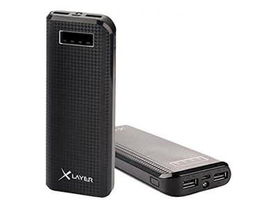 Xlayer PB 15000mAh Innen Schwarz–Ladegerät (Innenraum, Smartphone, Tablet, DC, schwarz, 161,5mm, 61,8mm)