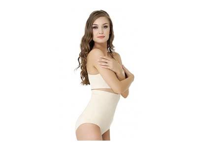 Formeasy Damen figurformender Miederslip, Bauch weg Shapewear, Shaping -Slip, Formslip ohne Bein Taillenslip