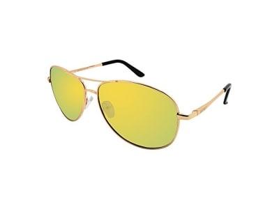 WHCREAT Klassisch Unisex Polarisierte Sonnenbrille mit Ultraleicht Verstellbaren Metallrahmen HD-Linse für Herren und Damen