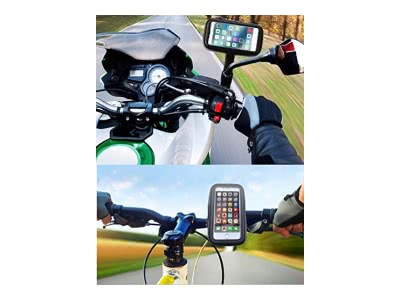 Halterung Handy Moto Samsung S9neue Klemmschiene auf Rückspiegel Lenker Extreme Härte Halterung S9Motorrad Halterung Samsung Galaxy S9Plus Fahrrad Halterung Galaxy S9Fahrrad Fahrrad-S9