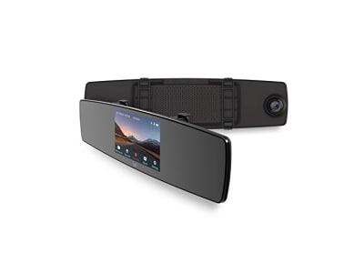YI DashCam 1080p Auto Kamera Full HD Dash Camera Auto Zubehör mit Nachtsicht, Notfallaufnahme, G-Sensor, LCD Display, App Kompatibel mit iOS und Android (z.B. Apple, Samsung, Huawei)