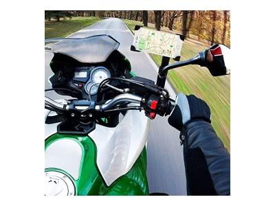 Motorrad Halterung Samsung Galaxy A5Rückspiegel Moto aber sicher des Marktes Neue Halt Extrem Hart Halterung Samsung A5Moto Halterung Samsung A5Spiegel Moto Bike Halter A5Rückspiegel Schwarz