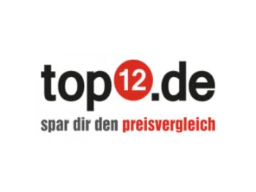 Aktionsangebot bei top12.de: Versandkostenfreier Einkauf