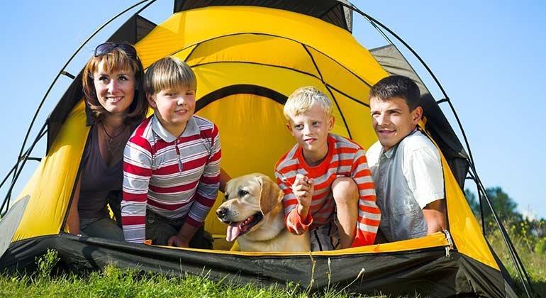 Camping-Grundausstattung zulegen und ab ins Freie!