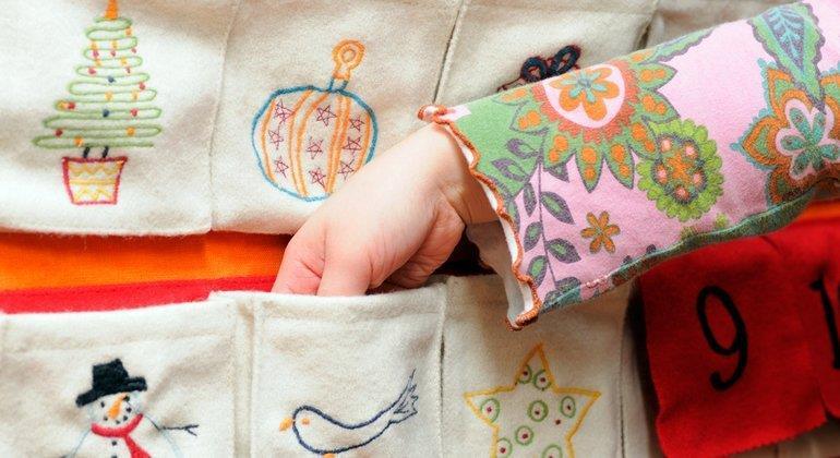 Adventskalender für Kinder selber füllen