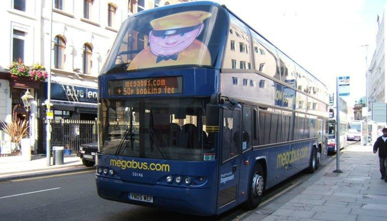 Megabus bietet nun auch Strecken in Deutschland an