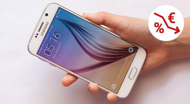 Preisverfall beim Samsung Galaxy S6 und S6 Edge
