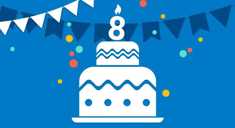 Wir feiern acht Jahre SPARWELT