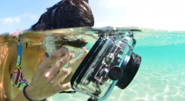 Eine wasserdichte Outdoor-Kamera für den Urlaub