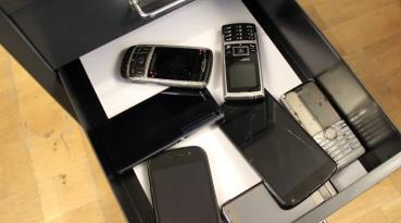 Wohin mit alten Handys?