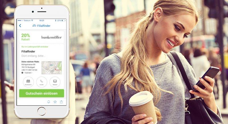 Die neue Version der SPARWELT-App erleichtert das Sparen im Geschäft.