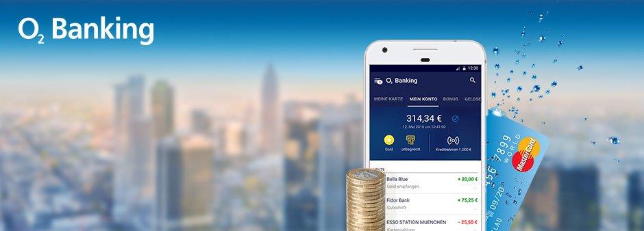 o2 Banking mit 50€ Startguthaben