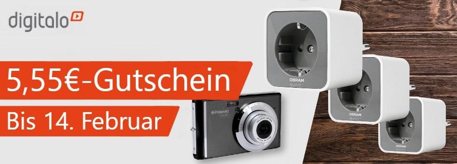 Exklusiv bei uns: 5,55€-Digitalo-Gutschein