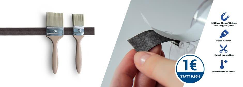 Wieder da: Praktisches Magnetklebeband für nur 1€ bei Amazon