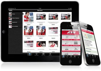 Sparen Sie auch über die App mit einem A.T.U.-Gutschein